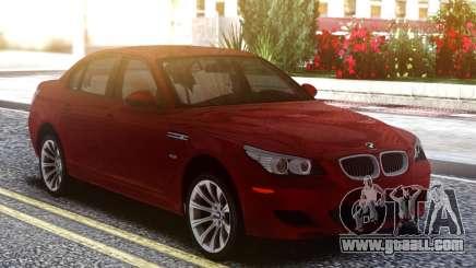 BMW M5 E60 Cherry for GTA San Andreas