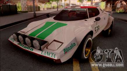 Lancia Stratos Transformers G1 Wheeljack for GTA San Andreas