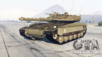 Merkava Mark IV for GTA 5
