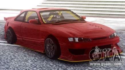 Nissan Silvia S14 Kouki Red for GTA San Andreas
