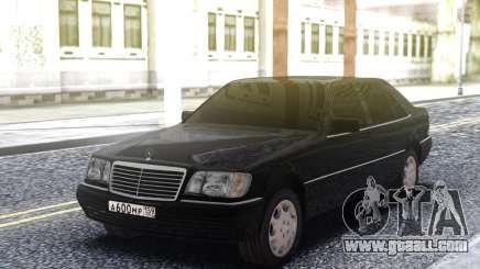 Mercedes-Benz W140 Original for GTA San Andreas