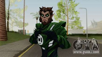 Arkkis Chummuck: Green Lantern Of Sector 3014 V2 for GTA San Andreas
