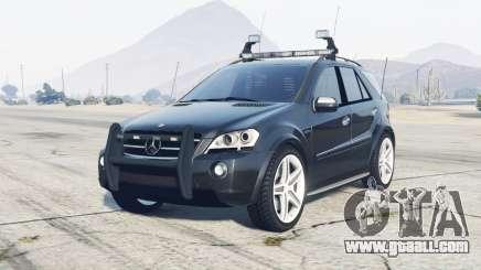 Mercedes-Benz ML 63 AMG (W164) 2009 FBI for GTA 5