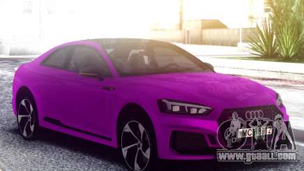 Audi RS5 Purple for GTA San Andreas