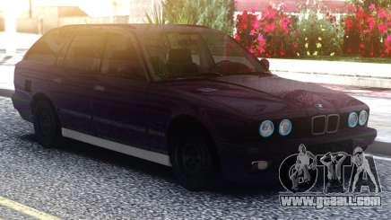 BMW E34 525 Purple for GTA San Andreas
