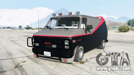 GMC Vandura A-Team Van for GTA 5