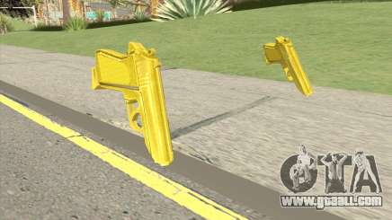 Wolfram PP7 Gold (007 Nightfire) for GTA San Andreas