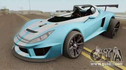 Ocelot Locust GTA V (3-Eleven Style) IVF for GTA San Andreas