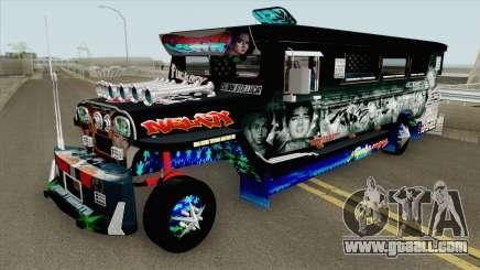 Castro Patok Jeepney for GTA San Andreas