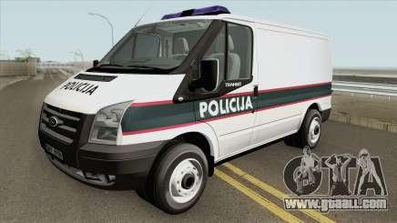 Ford Transit Policija MQ for GTA San Andreas