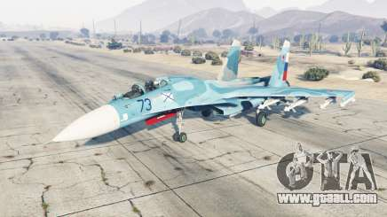 Su-33 soft-blue color for GTA 5