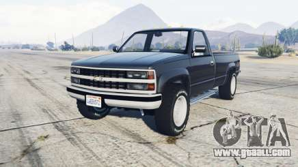 Chevrolet C2500 Regular Cab 1994 for GTA 5