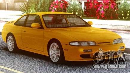 Nissan Silvia S14 Zenki Yellow for GTA San Andreas