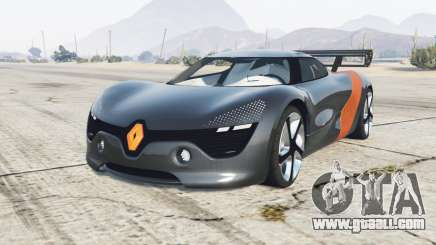 Renault DeZir concept 2010 for GTA 5