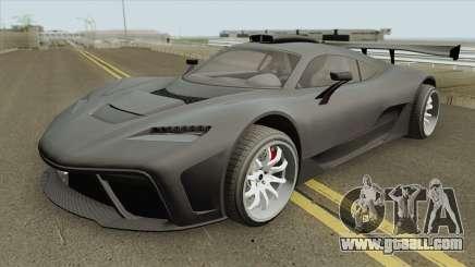 Benefactor Krieger GTA V IVF for GTA San Andreas