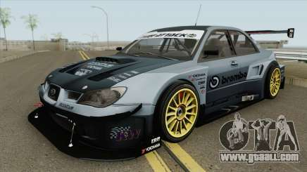 Subaru Impreza WRX STI Time Attack 2006 for GTA San Andreas