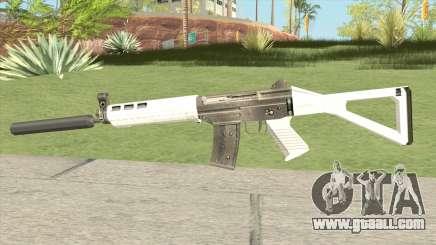 SG5 Commando Suppressed (007 Nightfire) for GTA San Andreas