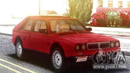 Lancia Delta S4 Stradale LQ for GTA San Andreas