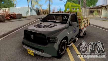 Dodge Ram 2500 Grey for GTA San Andreas