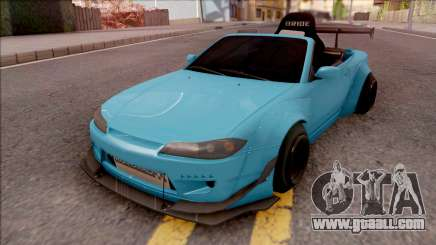 Nissan Silvia S15 Rocket Bunny Kart for GTA San Andreas