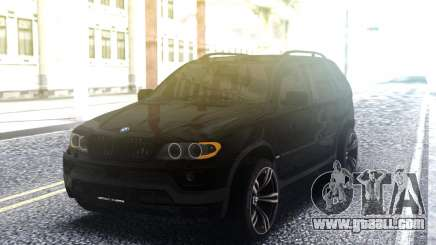 BMW X5 4 8is for GTA San Andreas