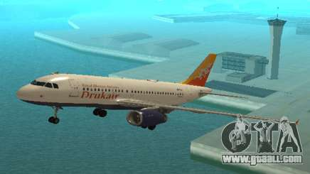 Druk Air (Royal Bhutan Airlines) Airbus A319-100 for GTA San Andreas