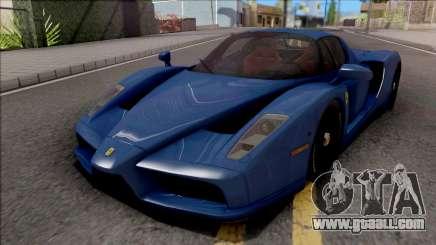 Ferrari Enzo 2002 Blue for GTA San Andreas