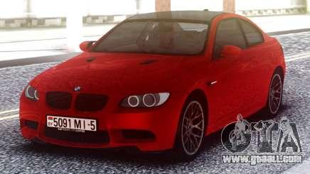 BMW M3 Original Red for GTA San Andreas