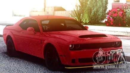 Dodge SRT Demon 2020 TURBO KE32 for GTA San Andreas
