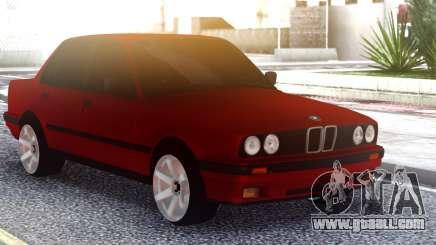BMW E30 Original Red for GTA San Andreas