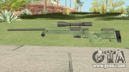 Winter Tactical Sniper Rifle (007 Nightfire) for GTA San Andreas