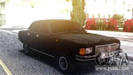 Volga 3102 Black for GTA San Andreas