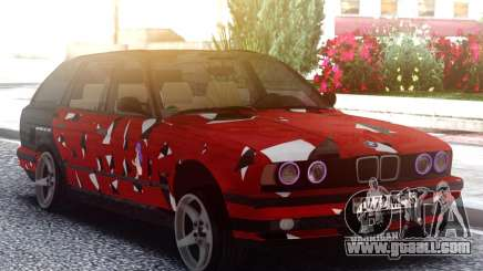 BMW E34 525i Painting for GTA San Andreas