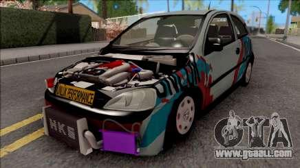 Opel Corsa 1.7 DTI for GTA San Andreas