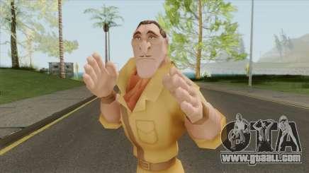 Clayton (Tarzan) for GTA San Andreas