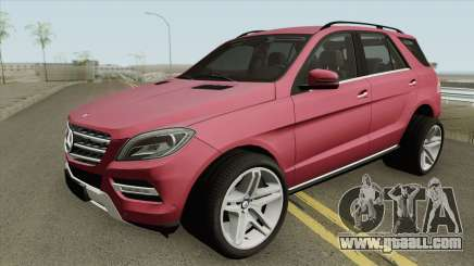 Mercedes-Benz ML Class 2013 for GTA San Andreas