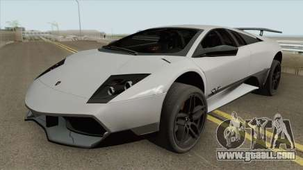 Lamborghini Murcielago LP 670-4 SV 2010 for GTA San Andreas
