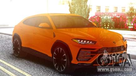 Lamborghini Urus Orange for GTA San Andreas