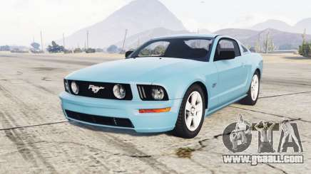 Ford Mustang GT 2005 half baked for GTA 5