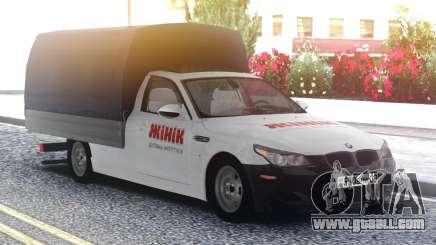 BMW M5 E60 Van for GTA San Andreas