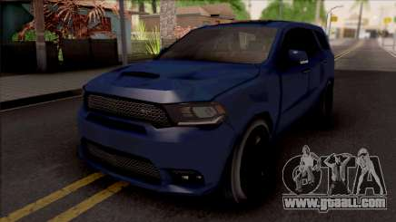 Dodge Durango SRT 2019 Lowpoly for GTA San Andreas