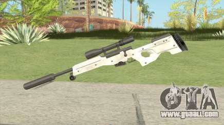 Winter Covert Sniper Rifle (007 Nightfire) for GTA San Andreas