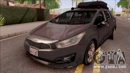Kia Ceed Lowpoly for GTA San Andreas