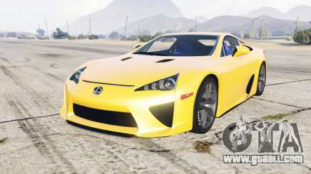 Lexus LFA 2010 for GTA 5