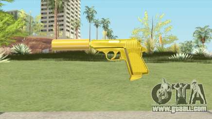 Wolfram PP7 Gold Silenced (007 Nightfire) for GTA San Andreas