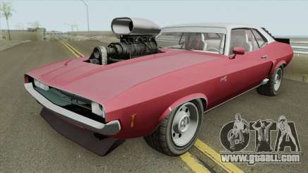 Bravado Gauntlet Classic GTA V Custom Bonnet IVF for GTA San Andreas