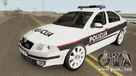 Skoda Octavia BiH POLICIJA 2006 for GTA San Andreas