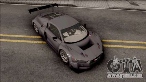 Audi R8 LMS 2016 Paint Job Preset 2 for GTA San Andreas
