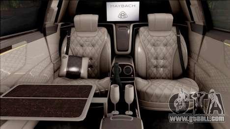 Mercedes-Maybach S650 Pullman 2019 for GTA San Andreas