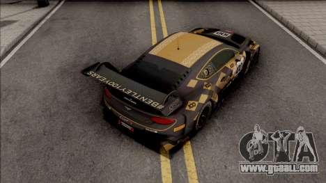 Bentley Continental GT3 2018 for GTA San Andreas